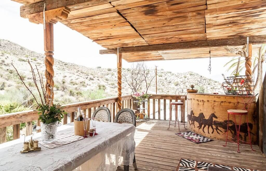 deck at the ranch