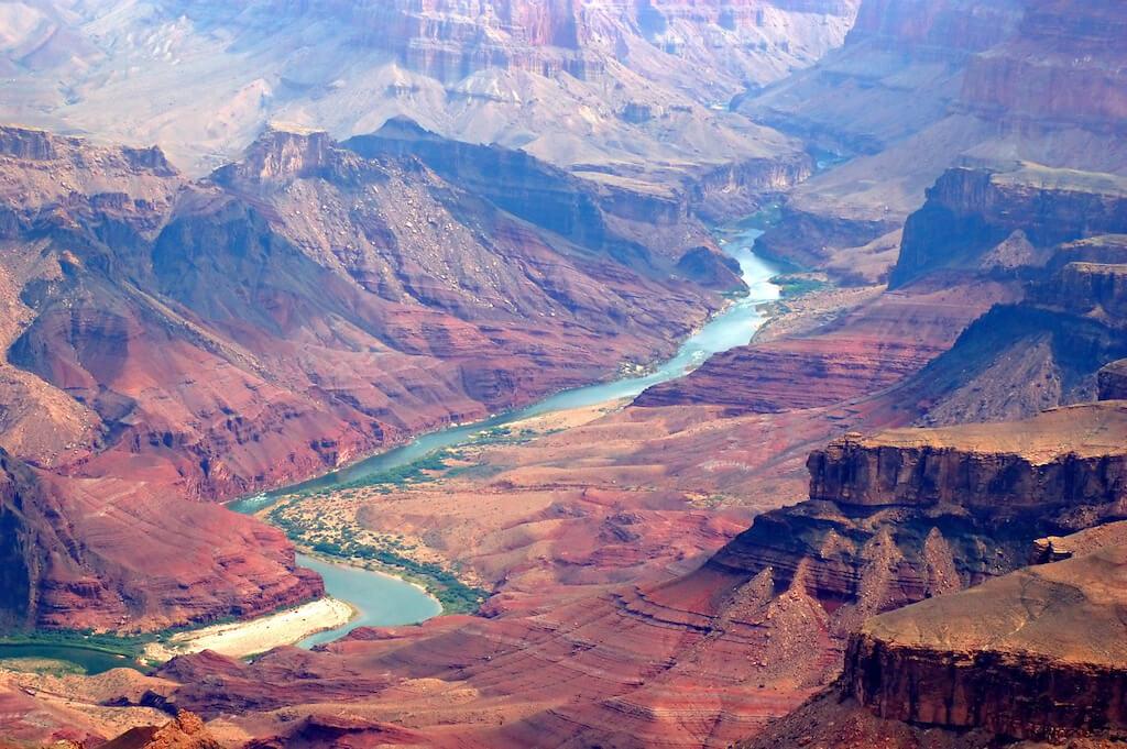 Colorado River flowing through the Grand Canyon
