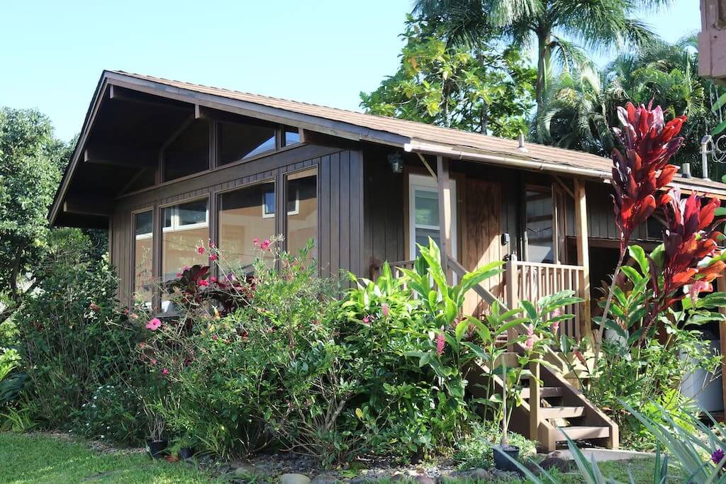 exterior of Hana cottage