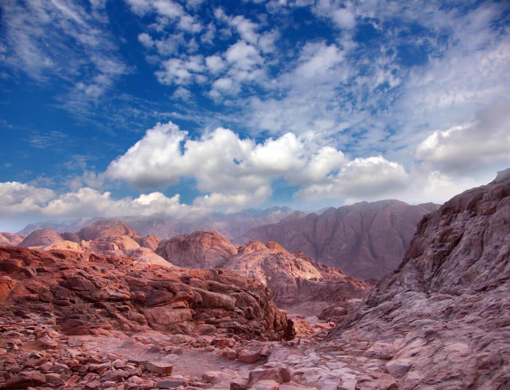 mountains at Zabriskie Point in Death Valley