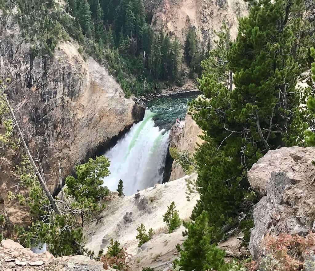falls at Grand Canyon of Yellowstone
