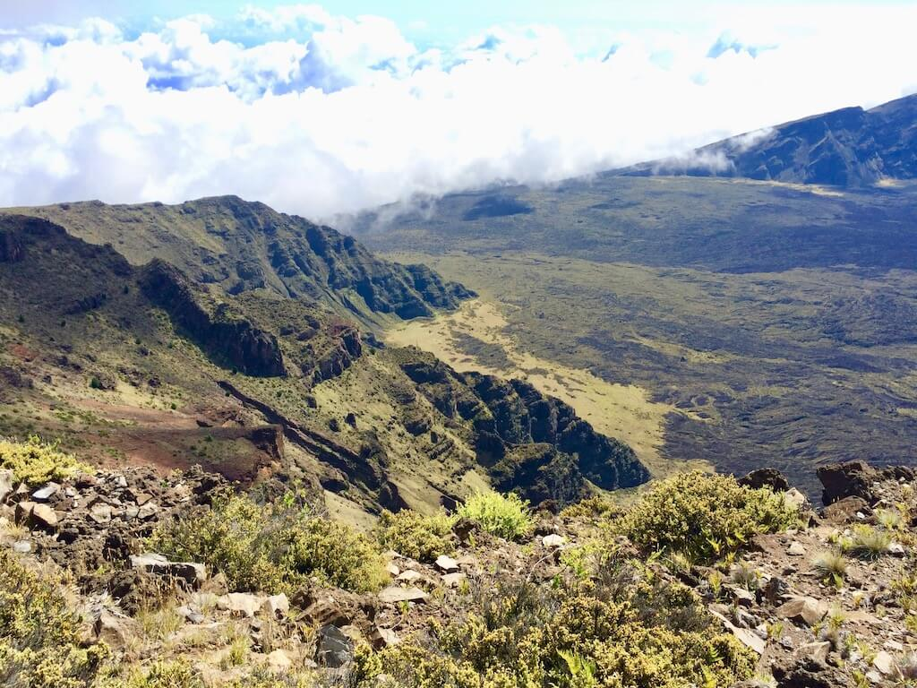 Mount Haleakala landscape
