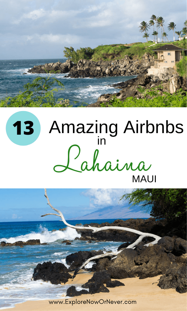 Wondering where to stay in Maui? Beachy Lahaina makes the perfect West Maui base. Watch world-famous sunsets from your breezy lanai with ocean breezes from one of these amazing Airbnbs. Lahaina travel guide | Maui travel | where to stay in Maui | things to do in Lahaina