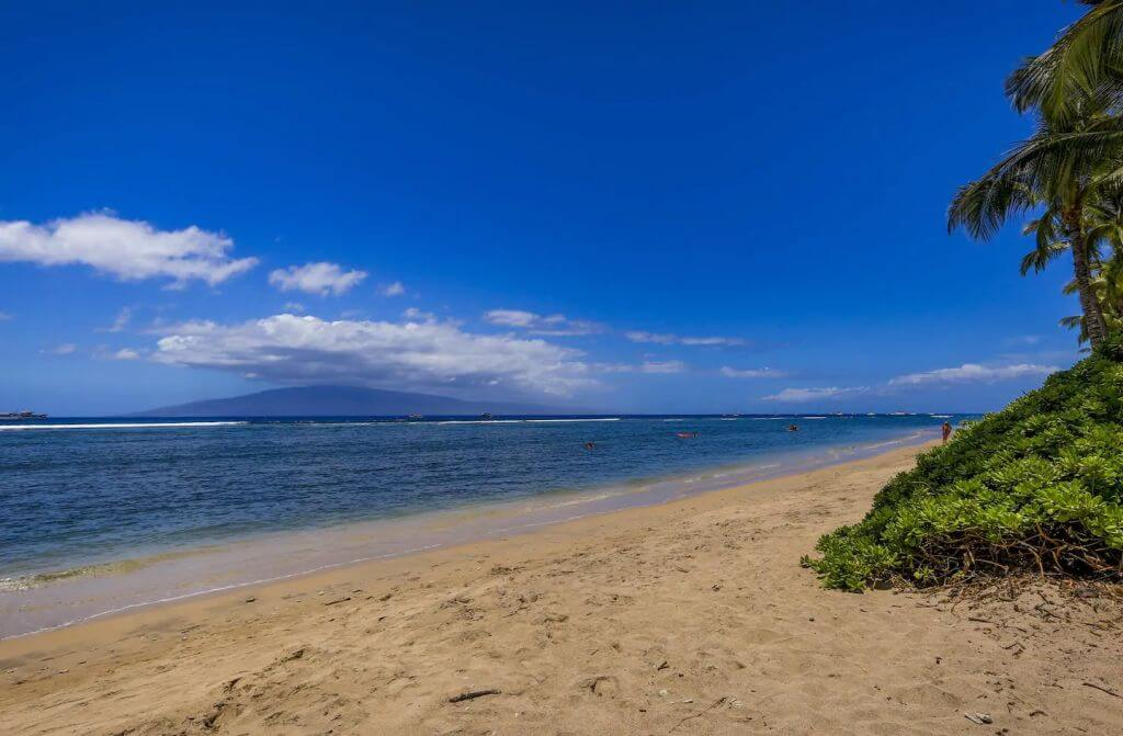view of beach near Lahaina Shores