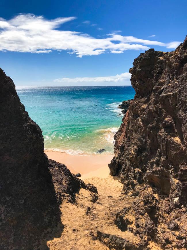West Maui beach