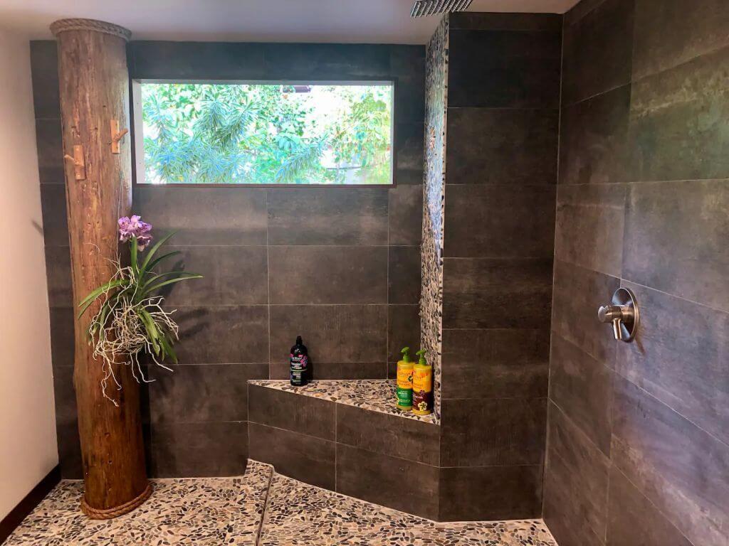 bathroom interior shower