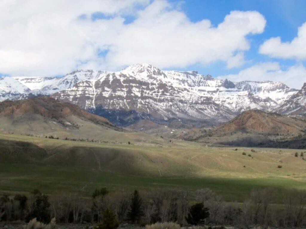 mountain cabin views