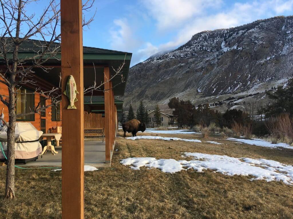 riverside airbnb outside