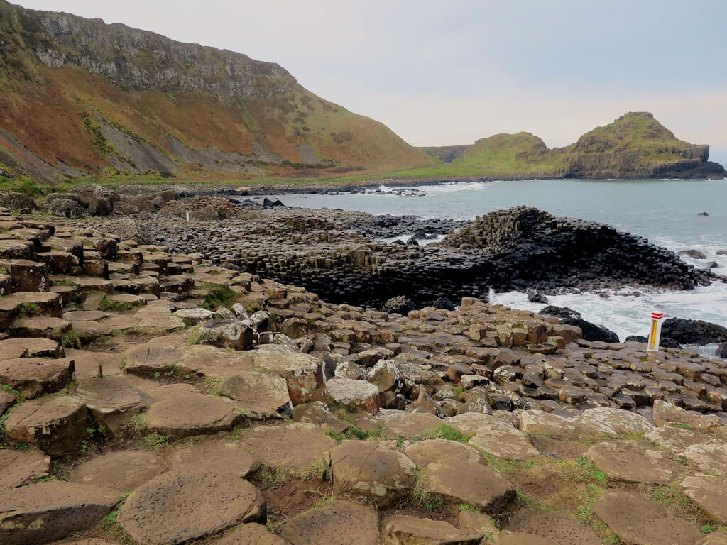flat rocks at Giants Causeway