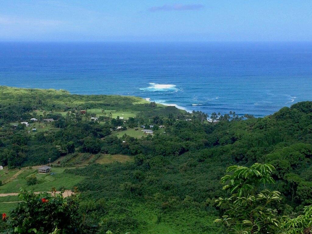 ocean view road to hana