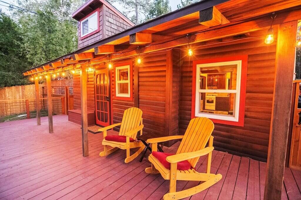cabin lanai view