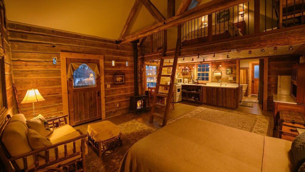 beautiful cabin interior