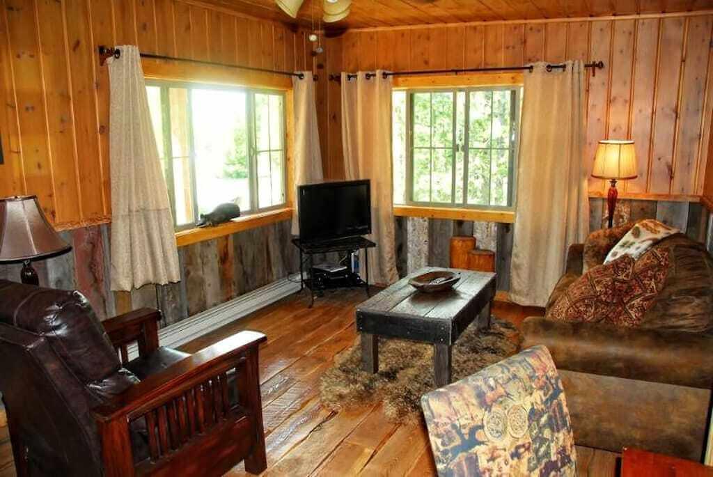 cabin family room