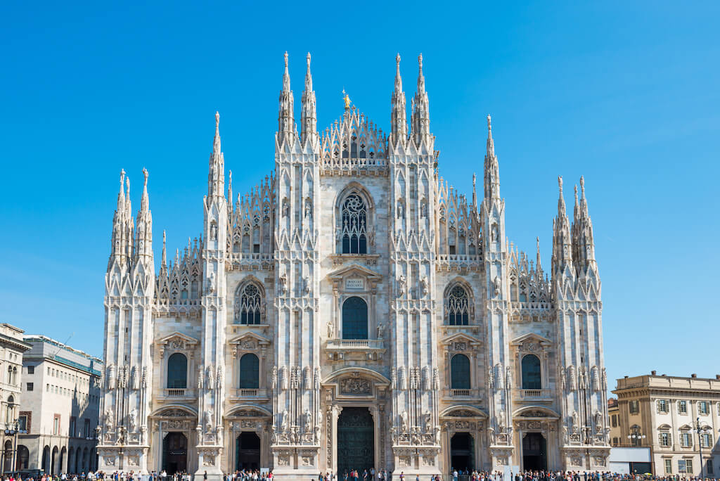 Duomo gothic cathedral in Milan