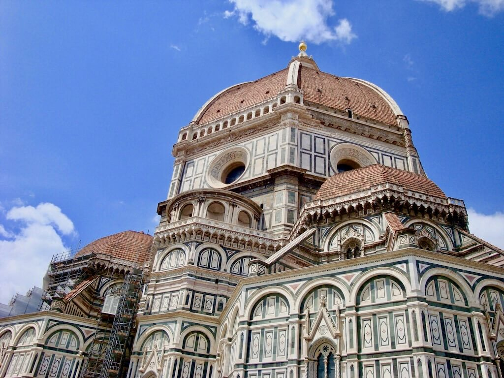 View of Duomo in Florence, one of the best places to visit with 10 days in Italy