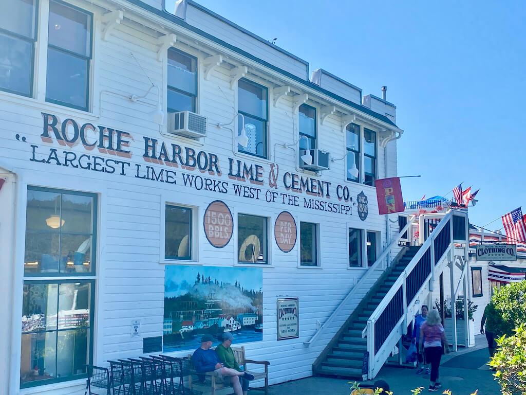 historic building at Roche Harbor