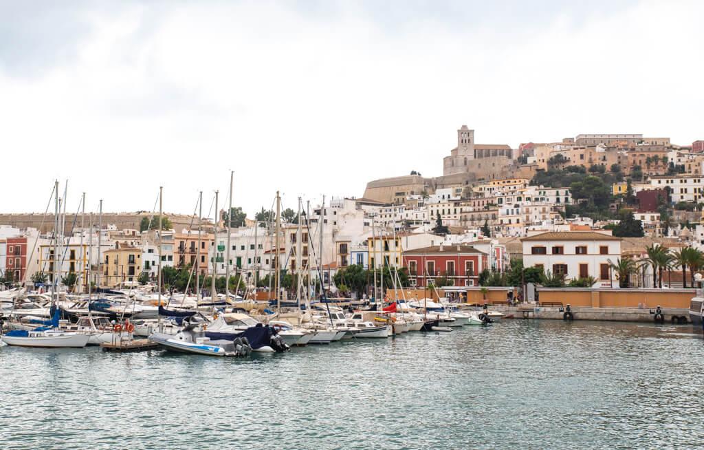 boat marina at Ibiza
