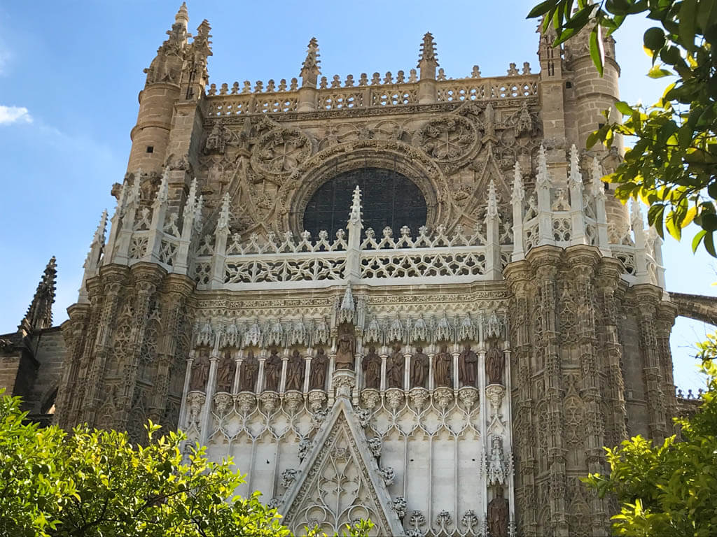 ornate Spanish building